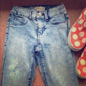 Jordache Jeans Acid Wash Size 7